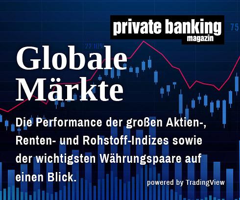 Globale Märkte private banking magazin