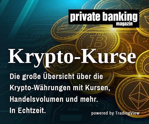 Krypto Kurse private banking magazin
