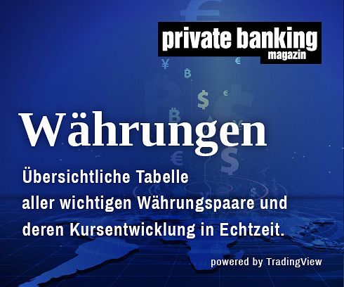 Währungen private banking magazin