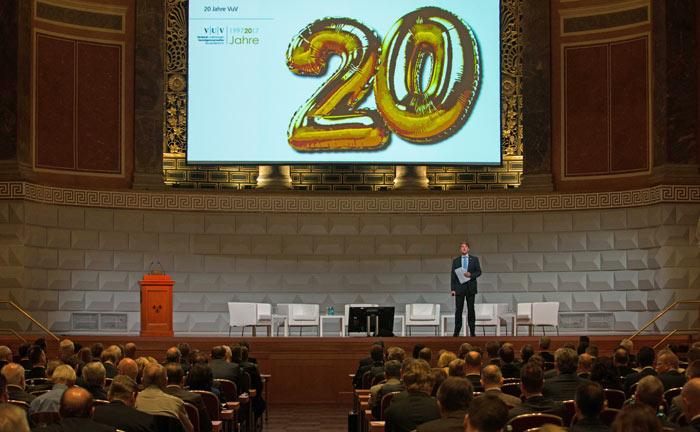 Der mittlerweile 4. Deutsche Vermögensverwaltertag dieses Formats fiel zusammen mit dem 20-jährigen Bestehen des VuV.