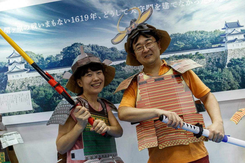 Japaner in traditioneller Klufft: Für das Alter sind sie aber nicht wirklich gut gerüstet.