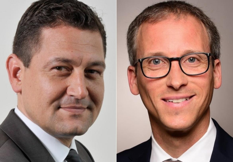 Mitgründer Markus Barth (links) und Sven Pfeil bilden den Vorstand des unabhängigen Asset Managers Aramea.