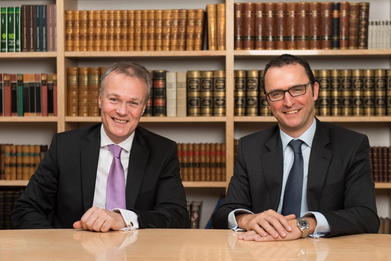 Geschäftsführende Gesellschafter der Huber, Reuss & Kollegen Vermögensverwaltung: Friedrich Huber (l.) und Michael Reuss