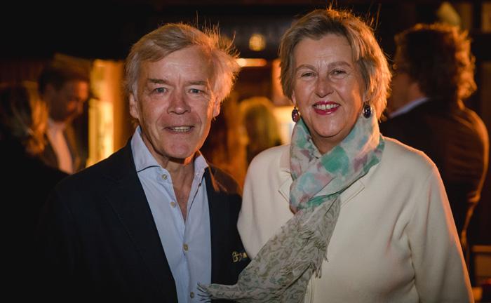 Christian Fehling, Vorstandssprecher beim Spirituosen-Hersteller Hardenberg-Wilthen, mit seiner Frau Huberta.