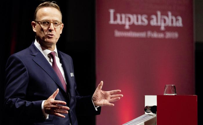 Ralf Lochmüller, Geschäftsführer von Lupus Alpha, eröffnete die Konferenz.