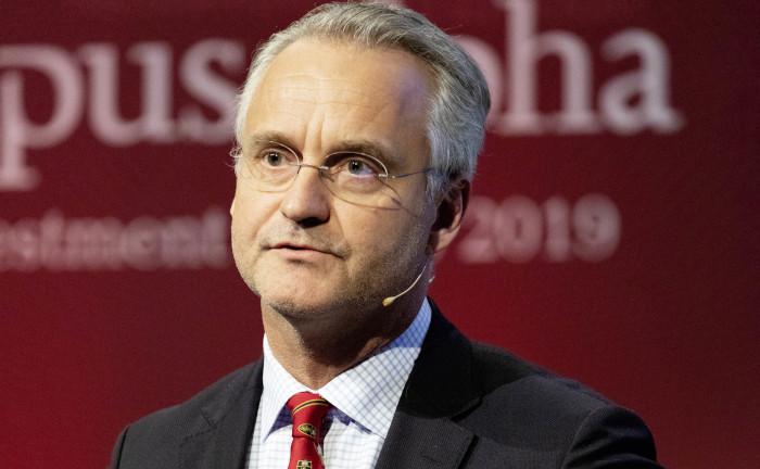 Magnus Billing, Vorstandsvorsitzender von Alecta. Das Unternehmen verwaltet die Pensionsansprüche von 2,4 Millionen Schweden.