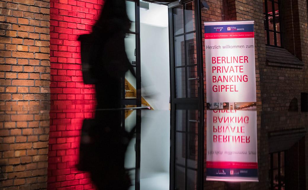 Auch dieses Jahr hat die Fuchs | Richter Prüfinstanz zum Private Banking Gipfel nach Berlin geladen.