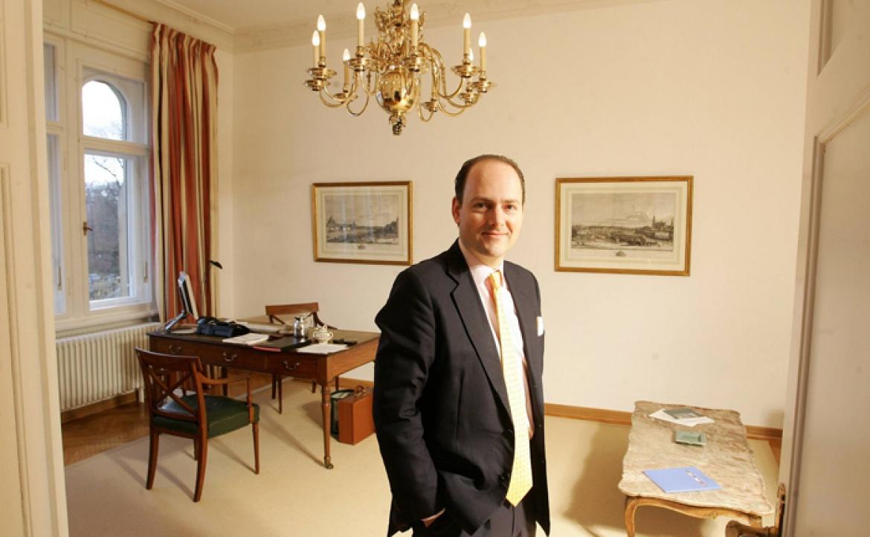 Carl Ferdinand Oetker in der Lampe-Niederlassung Dresden: Im Januar 2015 verlässt der UHNWI-Ansprechpartner und Generalbevollmächtigte die Privatbank.