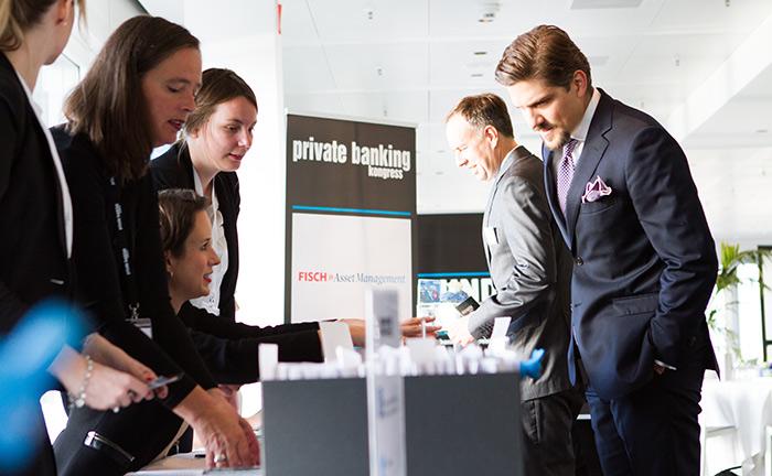 Das Organisationsteam des private banking kongress begrüßt die Gäste zur 13. Auflage in Hamburg.