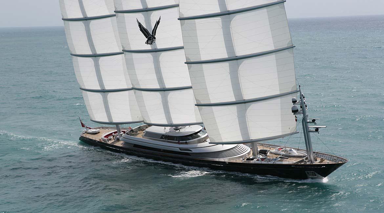 Luxus segelyachten hersteller  Ranking der Mega-Yachten: Neuer Rekord-Luxus-Segler kommt aus Kiel ...