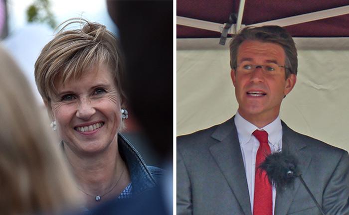 Susanne Klatten und Stefan Quandt halten zusammen rund 47 Prozent am Autohersteller BMW.