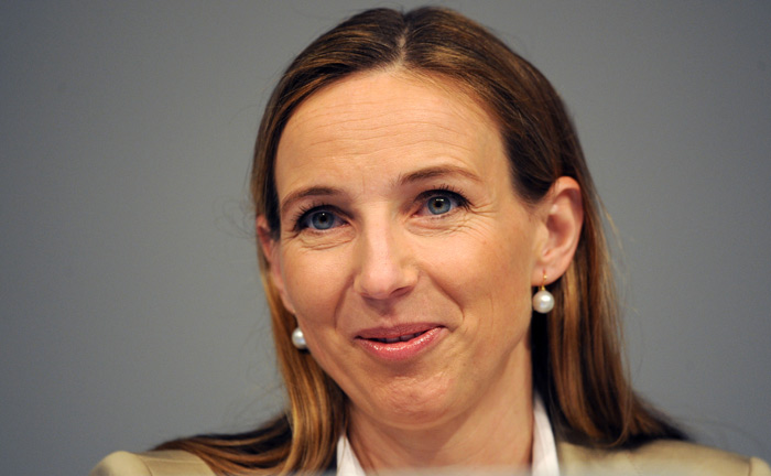 Simone Bagel-Trah führt als Vorsitzende den Gesellschafterausschuss der Henkels. Die Familie befindet sich in Besitz von 61 Prozent der Aktien des Konzerns.