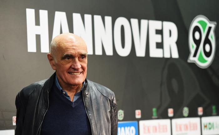 Unternehmer Martin Kind, Präsident von Hannover 96, ist ein vehementer Gegner der in der Fußball-Bundesliga geltenden 50+1-Regel.