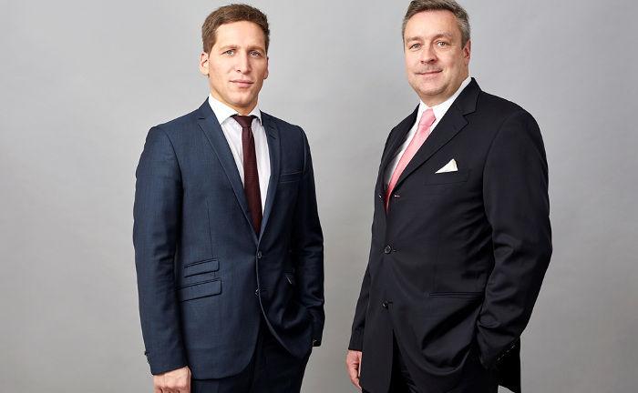 Der neue Loys-Chef Ufuk Boydak (l.) und sein Vorgänger Christoph Bruns.