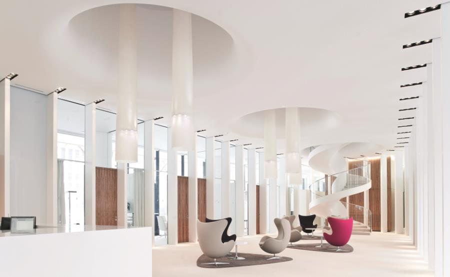 Lobby der BHF-Bank im Frankfurter Stammsitz