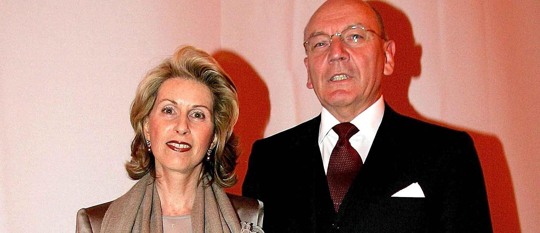 Madeleine Schickedanz mit ihrem Ehemann Leo Herl: Die Quelle-Erbin verlor im Zuge der Oppenheim-Esch-Krise fast ihr gesamtes Vermögen.