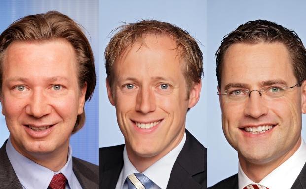 Neu bei Pioneer, v.l.: Markus Becker, Tobias Löschmann, Holger Schäfer