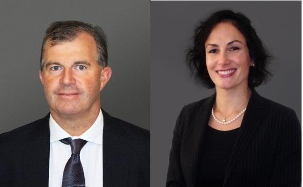 Sean Taylor und Fabiana Fedeli