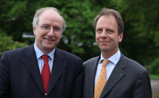 Wilhelm Krull, Vorstandsvorsitzender Bundesverband Deutscher Stiftungen (li.) und Hans Fleisch, Generalsekretär Bundesverband Deutscher Stiftungen