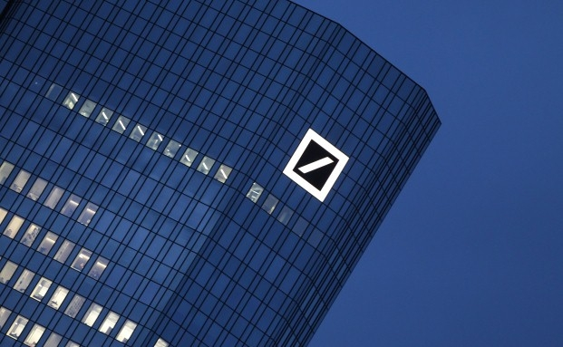 Deutsche-Bank-Zentrale in Frankfurt<br>Quelle: Getty Images
