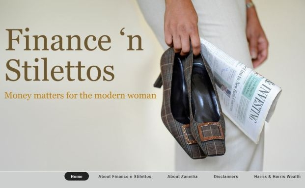 Harris and Harris Wealth Management: Der Club der reichen Frauen | © Screenshot des Blogs Finance 'n Stilletos