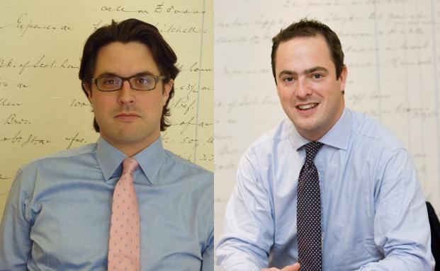 Llewellyn John (li.) und Dan Walker