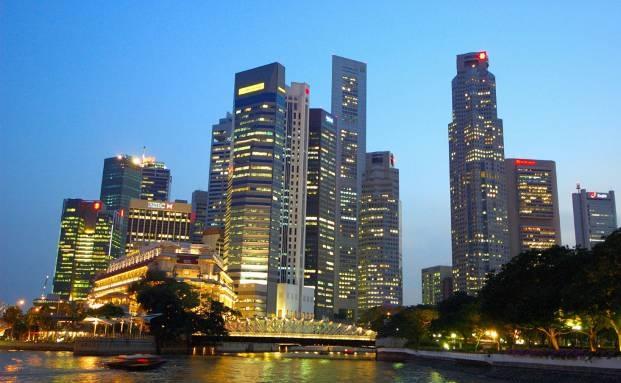 Singapur bei Nacht|© Fotolia