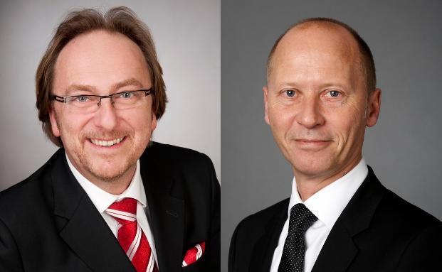 Jörg Hudemann (li.) und Winfried Stürzbecher