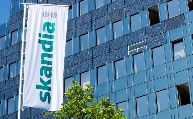 Das Skandia-Gebäude in Berlin