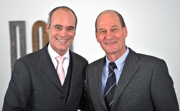 Oliver Hagedorn (links) und Volkmar Liebig.