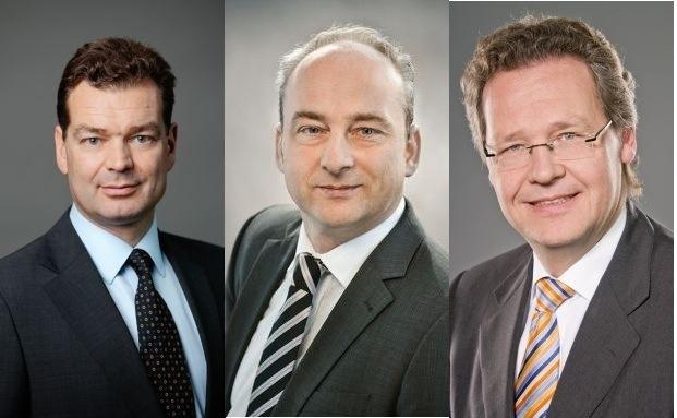 Frank Pörschke, Helge Scheunemann und Jörg Ritter (v.l.n.r.)