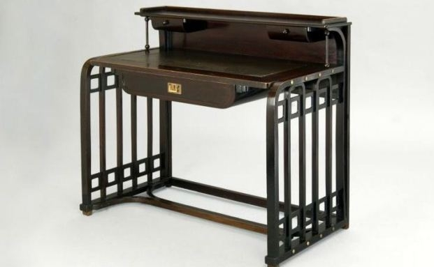 Jugendstil-Schreibtisch, Entwurf von Josef Hoffmann um 1901