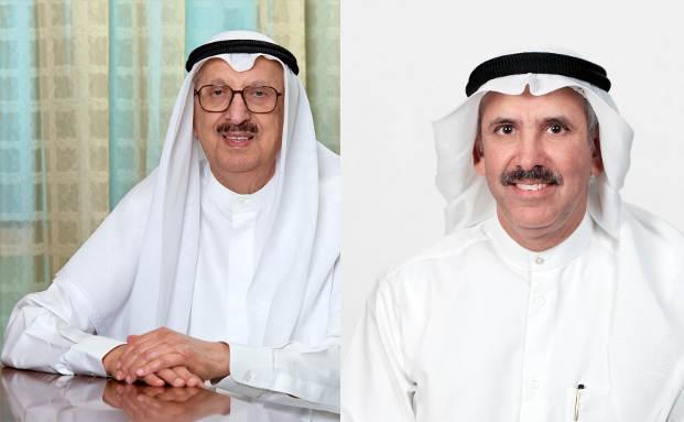Leiten die beste Bank in Nahost: Vorstandschef Mohammed Abdulrahman Al - Bahar und Vize Nasser Musaed Abdulla Al - Sayer von der National Bank of Kuwait|© Fotos: NBK