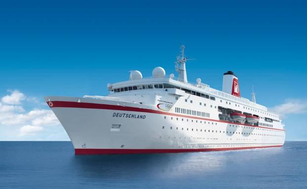 Die MS Deutschland|© Reederei Peter Deilmann GmbH