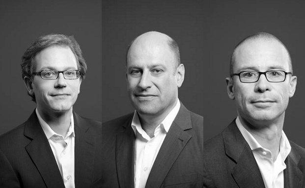 Geschäftsführende Teilhaber bei Xaia Investment (von links): Jochen Felsenheimer, Wolfgang Klopfer, Ulrich von Altenstadt