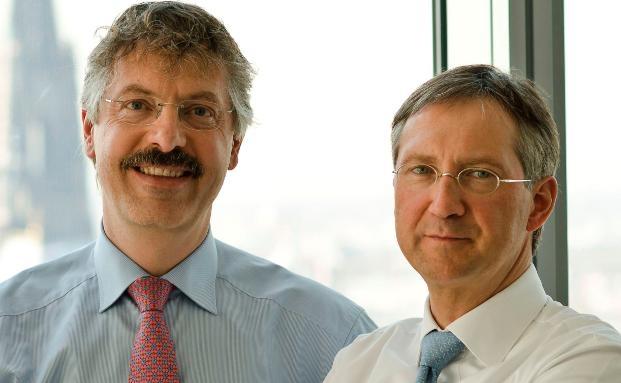 Philipp Vorndran (links) und Bert Flossbach