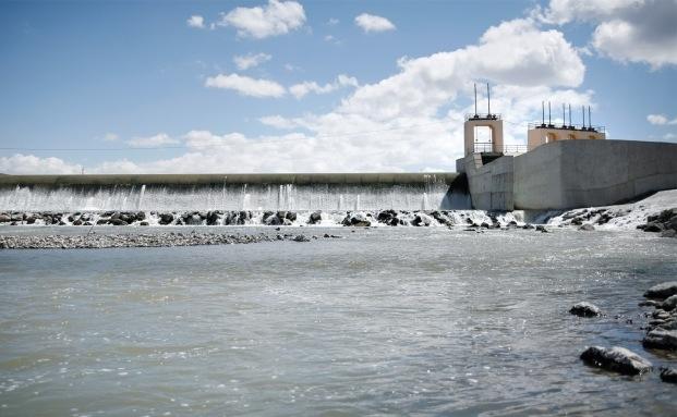 Türkisches Wasserkraftwerk eines Fonds von Aquila Capital