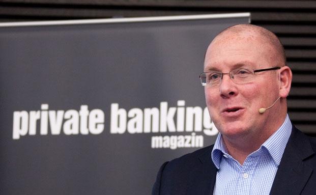 Nick Leeson auf dem private banking kongress 2013 in München|© Ch. Scholtysik / P. Hipp