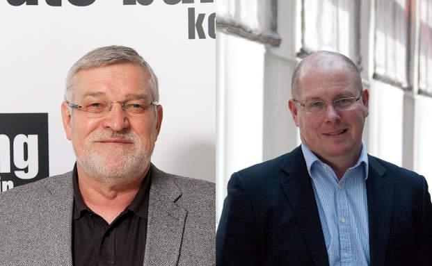 Gastredner auf dem private banking kongress in München 2013: Ex-Steuerfahnder Frank Wehrheim und Ex-Derivatehändler Nick Leeson|© Bild: Ch. Scholtysik und P. Hipp