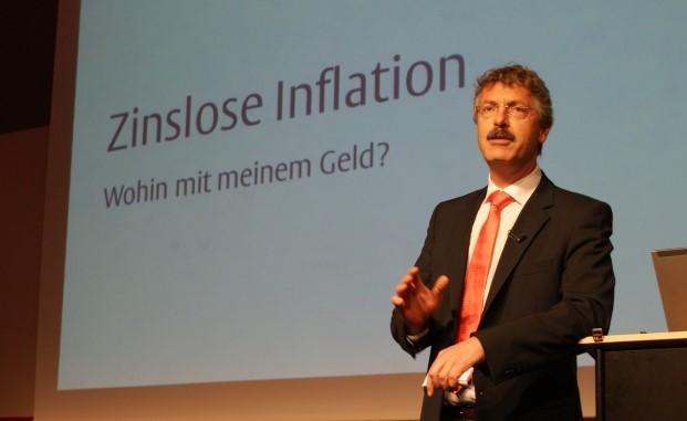 Auch dieses Jahr Top-Redner auf dem 3. Münchner Vermögenstag: Philipp Vorndran von Flossbach von Storch