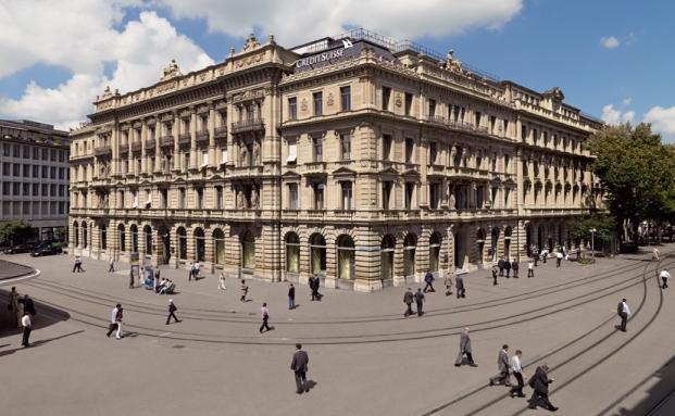 Hauptsitz der Credit Suisse Gruppe am Paradeplatz in Zürich: Dem Vernehmen nach zieht sich das Unternehmen aus dem Private Banking in Deutschland zurück|© Credit Suisse