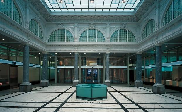 Vorhof in der Züricher Zentrale der Credit Suisse|© Credit Suisse