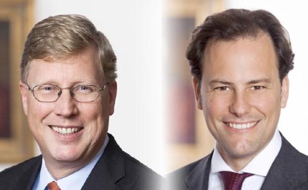 Magnus Graf von Schlieffen (links) und Marc Breidenbach haben bisher das Berenberg Office geführt