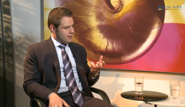 Lars Murek im Gespräch zum Ampega ISP Fonds|© Pan Am Studios