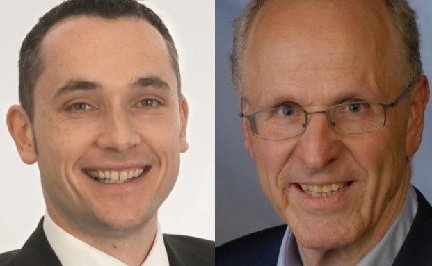 Die Autoren: Dr. Andreas Rickert (li.), Vorstandsvorsitzender der Phineo gemeinnützige AG und Michael Busch, Rechtsanwalt und Leiter des Frankfurter Büros der Stiftungszentrum.de Servicegesellschaft GmbH