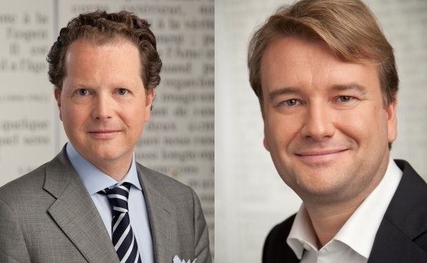 Florian Kühnle (links), Partner und Consulting Leader, und François Genaux, Partner und Financial Services Advisory Leader bei PwC Luxembourg.