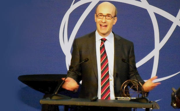 Kenneth Rogoff bei der Verleihung des Deutsche Bank Prize in Financial Economics im Jahr 2011 | © private banking magazin