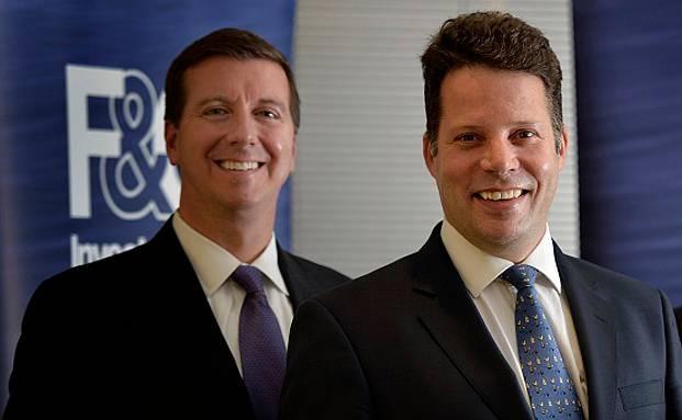 Barry McInerney, Co-Geschäftsführer der Bank of Montreal (links) und F&C-Geschäftsführer Richard Wilson|© Foto: Bank of Montreal