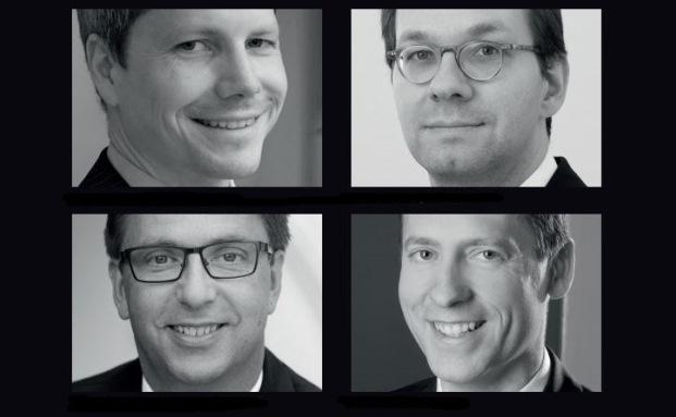 Fondsselekteure (von links oben nach rechts unten): Andreas Marnett, Sal. Oppenheim, Ulrich Wernitz, Berlin & Co., Reinhard Pfingsten, Hauck & Aufhäuser, Jens Kummer, Mars AM|© Jo Schwarz, Fotolia / Colours-Pic (3), Cristovao31)