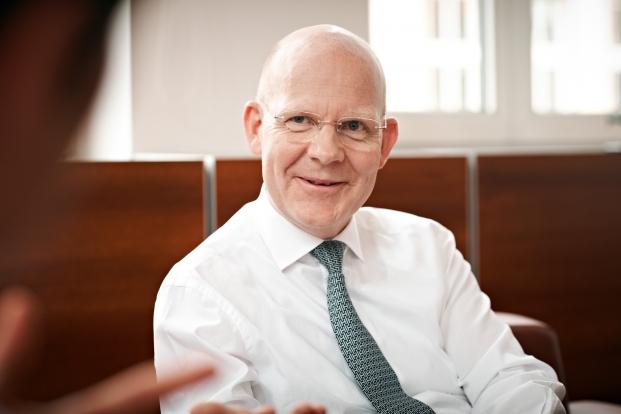 Horst Schmidt, Vorstandsvorsitzender der Bethmann Bank